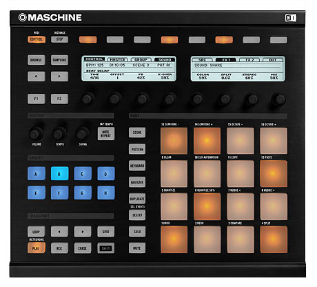 native instruments maschine production MIDI controller MPC