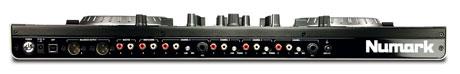 ns6 back Controladora NS6, da Numark, entra na briga dos 4 decks.