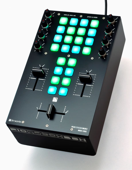 tkrworks picratchbox midi mixer controller