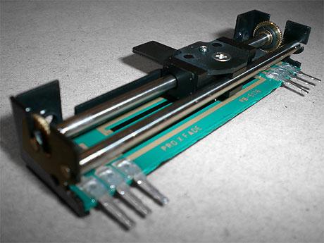 Pro X fade 2 PXF2 Ebsel NAMM 2008 cross fader crossfader