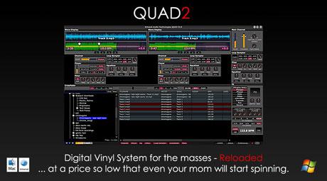 schaak audio Quad2 dvs system