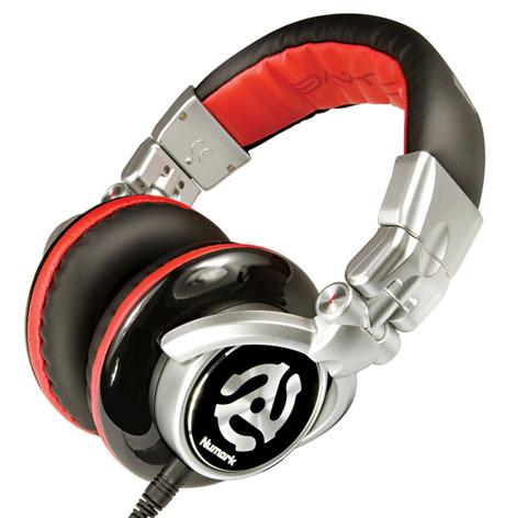 numark red wave headphones namm 2011 DJ