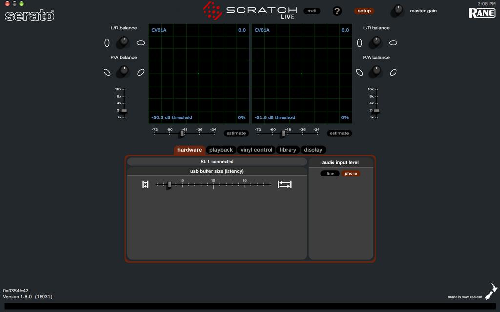 Serato Scratch Live 2. 4  VERIFIED  setupmenu