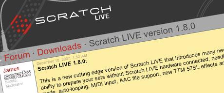Serato Scratch Live v1.8 final