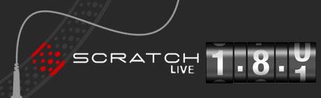 Serato SCratch Live v1.8.1 release Denon numark