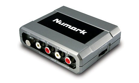 numark stereo|io USB audio USB interface