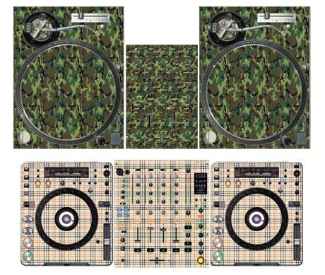 Styleflip dj gear customisation vinyl graphics