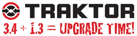 traktor 3.4 scratch 1.3 upgrade