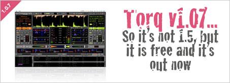 M-Audio Torq v1.07 upgrade