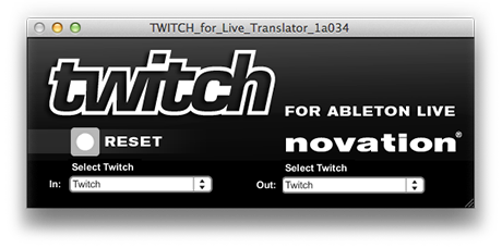 Twitch Ableton Live Translator