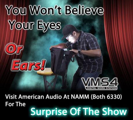 american audio vms4 teaser Namm 2011