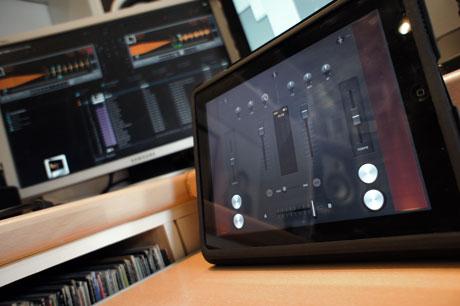 wireless dj MIDI ipad app