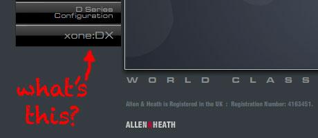 allen heath xone:dx
