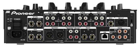 Detalhes do DJM-900 Nexus, da Pioneer controladora, djm-800, djm-900, djm-900 nexus, djm900, mixer, nexus, pioneer, x-pad