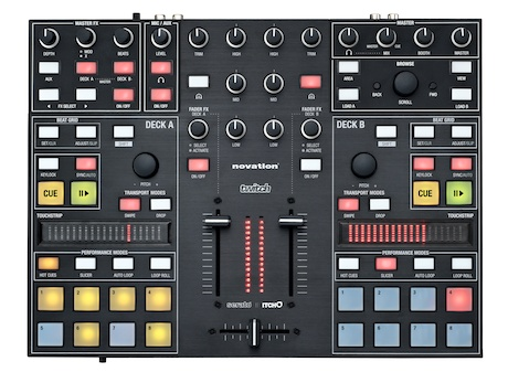Agora é oficial: Novation Twitch controladora, itch, midi, musikmesse, novation, Serato, Traktor, twitch